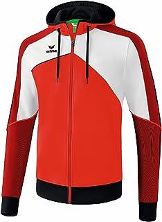 Erima Unisex Kinder Premium One 2.0 Trainingsjacke mit Kapuze