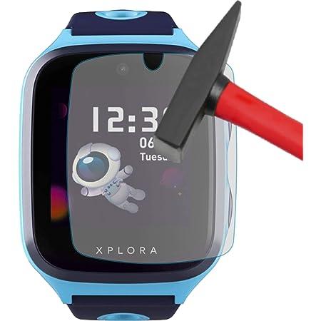 4ProTec I 4X Schutzfolie KLAR passgenau f/ür XPLORA X5 Play Bildschirmschutzfolie Schutzh/ülle