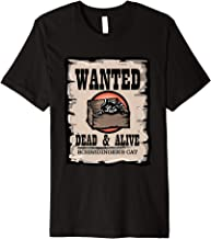 Schrodingers Cat Wanted Dead & Alive Funny Physics T-Shirt
