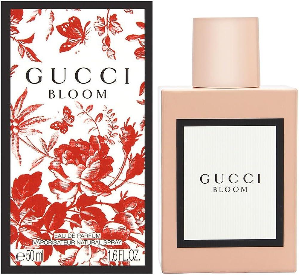 Gucci bloom, eau de parfum,profumo per donna,50 ml 10008089