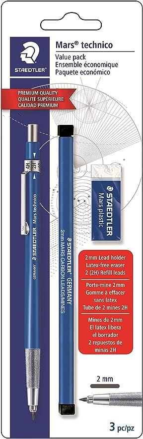 10 Pcs Staedtler Lead Holder 780C 2.0mm Mechanical Industrial Pencil drawing