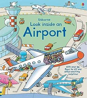 Look Inside an Airport (Look Inside Board Books)