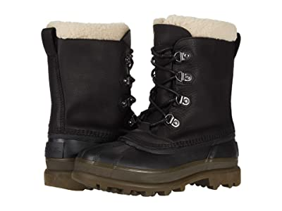 SOREL Cariboutm Stack Waterproof (Black) Men