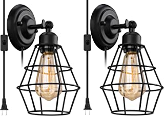 Best caged sconce wall light Reviews