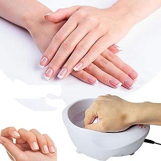 Elektrische nagel weekkom, manicure Handbel Trillingsmassage Jet Spa Soak Rustgevende kom Nagellakverwijderaar Dode huid V...
