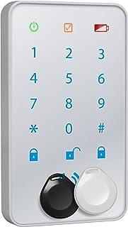 Smartwares SA78C draadloos toetsenbord/keypad & 2 NFC-tags voor alarmsystemen