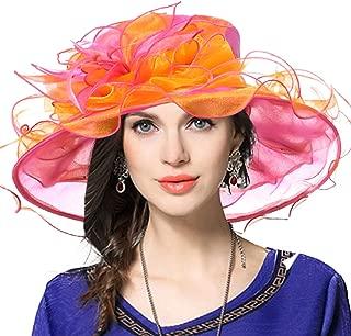 Women Church Derby Hats Tea Party Bridal Dress Wedding Hat