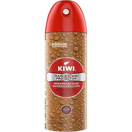 KIWI Imperméabilisant Pluie et taches, Spray imperméabilisant en aérosol, protège vos chaussures, sacs, manteaux, etc. jusqu'à 15 jours de protection contre la pluie, 200ml