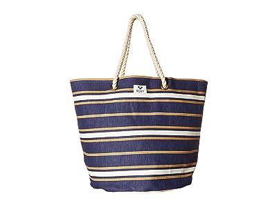 Roxy Sunseeker Tote (Medival Blue/Macy Stripe Swim) Bags