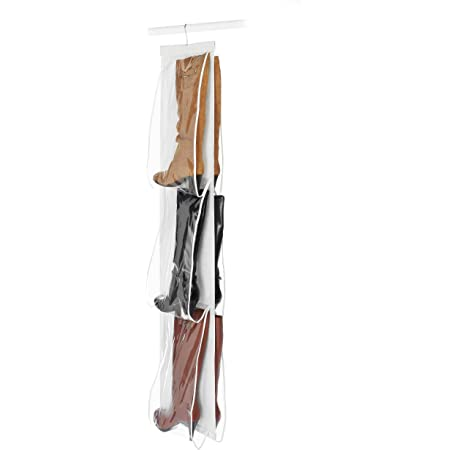 Whitmor Hanging Boot File Hanging Storage For Men S And Woman S Boots 3 Pair Home Kitchen