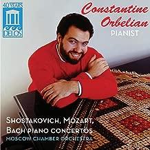 Constantine Orbelian Plays Schostakovich, Mozart & Bach Piano Concertos