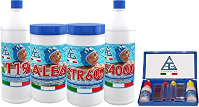 C.A.G Chemical 4all0004All Kit Tratamiento Aguas