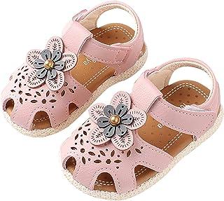 Bébé Filles Chaussures Princess - Sandales Bout Fermé Chaussures Premiers Pas Bébé De Été Chaussons Filles Semelle Souple ...