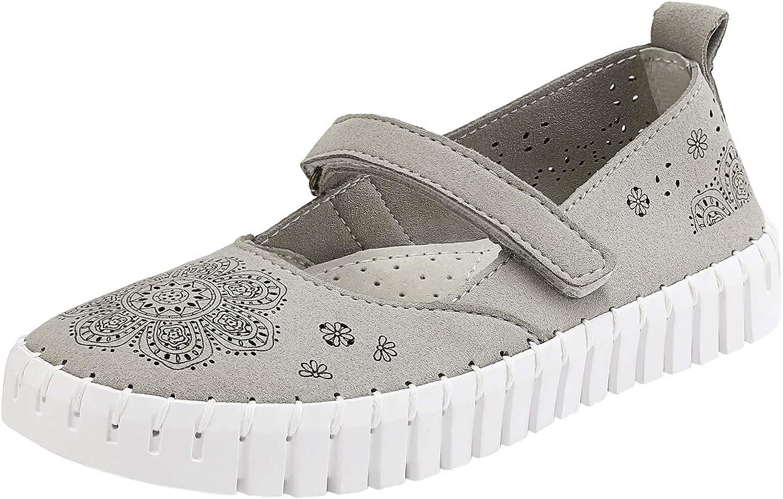 DREAM PAIRS Girls Dress Shoes Slip On Ballerina Flats