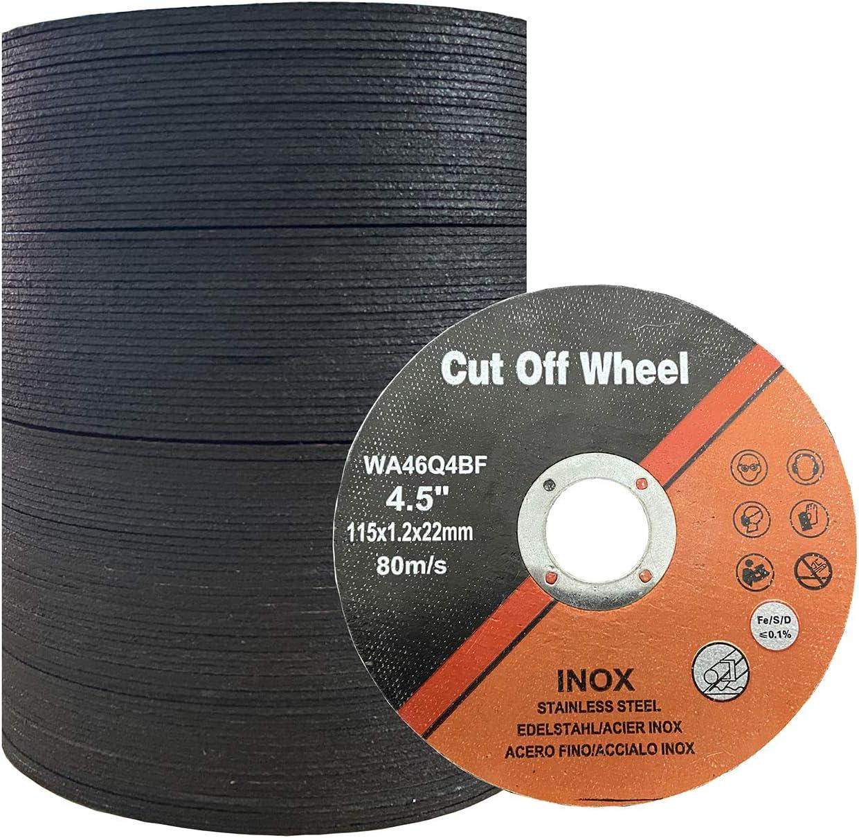 Dealing full price reduction Cutting Wheel 4-1 2 Inch 100 Cut New life PCS 4.5