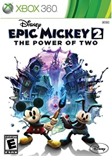 Epic Mickey 2 The Power of Two by Disney Region 1 - Xbox 360
