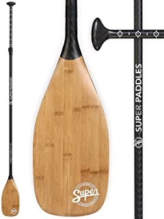 Carbon Fiber SUP Paddle - 3-Piece Adjustable Stand Up Paddleboard Paddles - Carbon Fiber Series