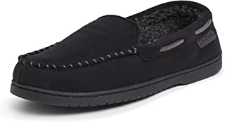 Dearfoams Moccasin with Whipstitch mens Slipper
