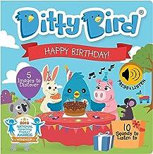 کتاب صوتی کودک DITTY BIRD: اولین کتاب تعاملی تولد ما برای نوزادان ، اسباب بازی های عالی برای هدیه های پسر 1 ساله و دختر 1 ساله است. کتاب موسیقی آموزشی برای کودک نوپا 1-3. برنده جایزه!