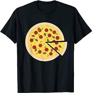 adventure then pizza shirt