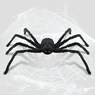Huge Halloween Spider Web Decorations Giant Spider Web for Halloween Deco Outdoor Indoor Haunted House Party Decoration 12...