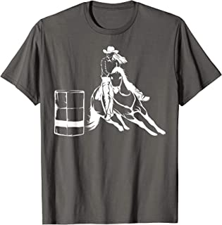 barrel racing rodeo shirts
