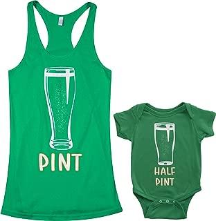Pint & Half Pint Infant Bodysuit & Women's Racerback Tank Set