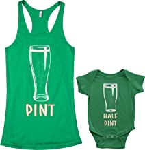 Threadrock Pint & Half Pint Infant Bodysuit & Women's Racerback Tank Set