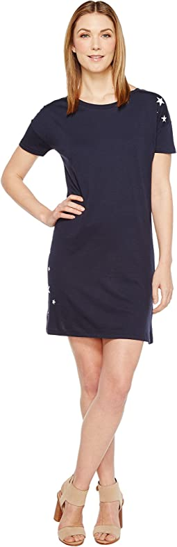 Cotton Modal Straight Up T-Shirt Dress