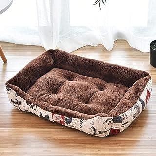 Warm Comfort Dog House Pet dog Cashmere House Printing Keep Pet Bed Cushion Pet Supplies