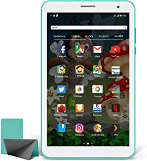 Tablet Niños 8 Pulgadas, Android 10.0 Pie Tablet PC para Niños, Pantalla IPS HD WiFi Bluetooth Quad-Core Google Play Certi...