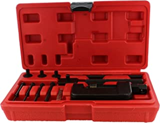 ABN Chain Breaker 13-Piece Set with Carrying Case – Chain Cutter and Riveter for..