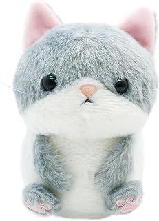 アニマルベイビー マネしておしゃべりブルブルぬいぐるみ ネコ