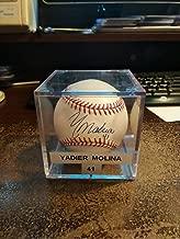 Yadier Molina Super Rare Rookie Autographed Signed Memorabilia Baseball #41 JSA Certified Stl Cardinals