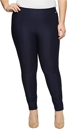 Plus Size Straight Leg Compression Pants