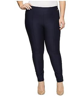 Plus Size Straight Leg Compression Pants