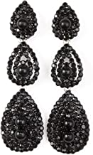 VIJIV Gatsby Earrings Vintage 1920s Drop Chandelier Flapper Jewelry Accessories