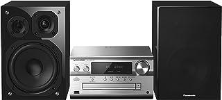Panasonic Micro Chaine HiFi Bluetooth SC-PMX150EGS Lecteur CD, Radio FM, 120W, High Res..