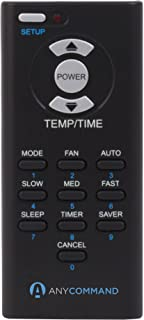 AnyCommand ACR-01 Universal AC Remote Control for Window Air Conditioners, Black