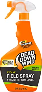 Dead Down Wind Evolve Field Spray – Natural, Broad-Spectrum, Odor-Eliminating Hunting Spray