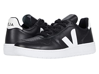 VEJA V-10 (Black/White/White Sole) Men
