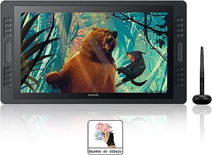 Huion KAMVAS Pro 20 GT-192 Gráficos Tableta de Dibujo Función INCLINACIÓN Sin batería 8192 Niveles Sensibilidad a la presión con 8 Teclas de presión 1 Barra táctil a Ambos lados-19.53 Pulgadas