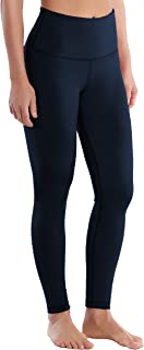 """BUBBLELIME 25""""/26""""/27""""/28"""" Inseam High Compression Yoga Running for Yoga High Waist Moisture Wicking UPF30+"""