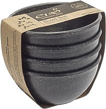 EVO Sustainable Goods 10 oz. Bowl Set, Black