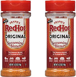 Frank's Redhot Original Seasoning Blend, 4.12 Oz (2 Pack)