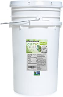 Milliard Citric Acid 50 Pound PAIL - 100% Pure Food Grade NON-GMO Project VERIFIED (50 Pound)