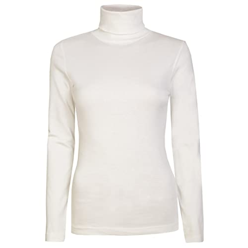 234248712c5 Womens Roll Necks Ladies Polo Neck Tops Exclusively Brody   Co Plain  Winter Ski Quality Stretch