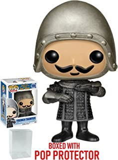 Funko Pop! Movies: Monty Python and The Holy Grail - French Taunter Vinyl Figure (Bundled with Pop Box Protector CASE)