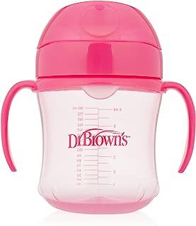 Dr. Brown's Soft-Spout Transition Cup, 6 oz (6m+), Pink, Single