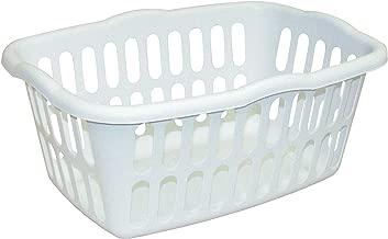 STERILITE Rectangle Laundry Basket, White